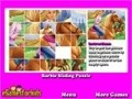 Hra Sliding Puzzle Barbie . Zahrajte si on-line